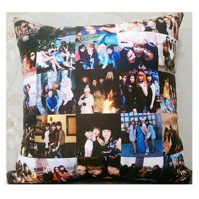 Подушки с фотографиями на заказ