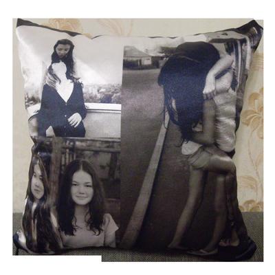 Заказать подушку с фото